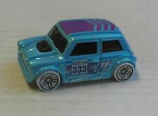 Hot Wheels Morris Mini hellblaumetallic Auto Car Kleinwagen Mattel HW Klassiker