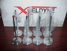 "8 NEW 6 Millimeter Xceldyne Titanium Intake Valves 2.180"" --5.715"" Del West"