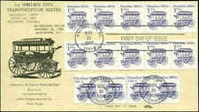US FDC  #2225 PNC #1 & #1897 PNC #1 Strips on Shue Cachet Washington, DC