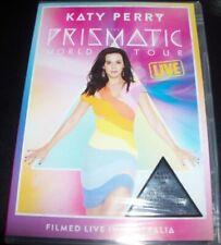 Katy Perry The Prismatic World Tour Live DVD PAL Region 4 Aust Post