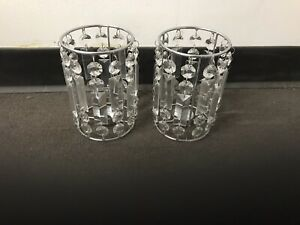 candelabra crystal wedding centerpieces