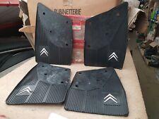 Citroen BX Set of 4 Mudflaps Front / Rear Left / Right ZC9867415U NEW GENUINE