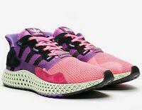 adidas ZX 4000 4D x SNS - Pink / Purple / Black - Sizes 3-14UK FV5525