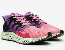 adidas ZX 4000 4D x SNS - Pink / Purple / Black - Sizes 3-14UK FV5525