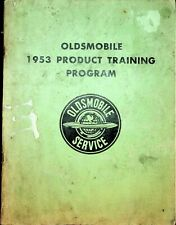 1953 Oldsmobile Product Training Program Service GM General Motors Oshawa