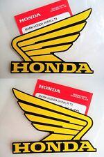 HONDA CR MR MT SL TL XL XR FUEL TANK WING DECALS STICKER ** GENUINE HONDA **