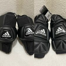 New Adidas Freak Flex Ag Senior Lacrosse Arm Pads Cf9659 & Cf9660 Both Size M