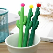 Creative Cute Cactus Plants Gel Pen Kawaii Stationery Chancery Material Escolar