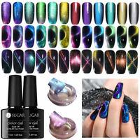 UR SUGAR Cateye Magnetic UV Gel Polish Holographic Colorful Nail Art Gel Varnish