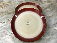 Pfaltzgraff Red Stoneware Dinnerware Serving Dishes For Sale Ebay