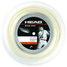 (0,32€/m) Head Sonic Pro 17 White 200 m Tennissaiten