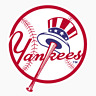 New York Yankees #1 Logo MLB DieCut Vinyl Decal Sticker Buy 1 Get 2 FREE