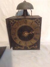 mouvement d'horloge contoise ancien cercle laiton