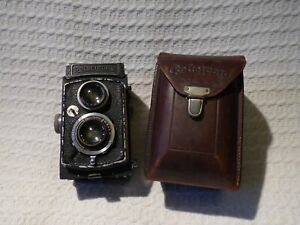Vintage Rollei Rolleicord Model 1A / IA Type III TLR Camera – Triotar 75mm 1:4.5