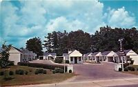 Griffin Georgia~Willis Motor Court~Marcus Jinks Owner~1950s Motel Postcard