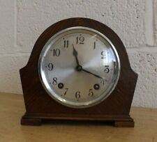 Vintage Garrard Striking Mantel Clock & Key.  Working but Faulty. (Hospiscare)