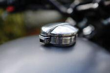 "Triumph Bonnie Street Scrambler TEC Alloy Tank Adaptor + 2.5"" Monza Style Cap"