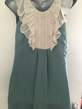 Teal Silk Warehouse Dress Size 8
