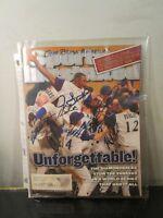 Arizona Diamondbacks Signed 2001 World Series Sports Illustrated SI~