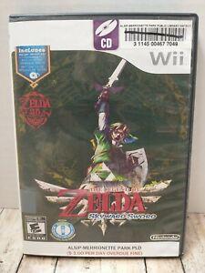 The Legend of Zelda: Skyward Sword (Nintendo Wii, 2011) w/ Music CD Ex-library