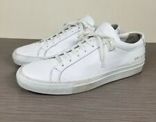Common Projects Original Achilles Sneaker White Leather, Womens Size 11 US / 41