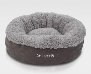 Scruffs Pet Dog Cat Warm Washable Round Cat/Kitten Bed Fleece/Plush/Soft/Donut