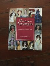 Period & Contemporary Patterns For Fashion Dolls by Hazel McMahon 15� Dolls Gene