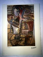 Picasso Litografía 38.5 x 28.5 cm Firma Fondazione Sello Spadem 250 ex. ART055