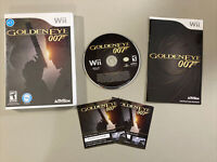 GoldenEye 007 (Nintendo Wii, 2010) Bond Video Game Complete Free Shipping L@@K