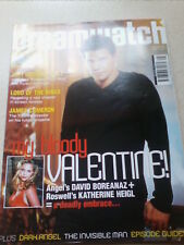 DREAMWATCH #80  KATHERINE HEIGL David Boreanaz ANGEL MAY 2001