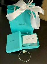 Authentic Return To Tiffany & Co. Heart Tag Bracelet Charm Chain 925 Sterling