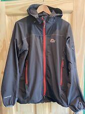Men's Soft Shell Jacket Large Lowe Alpine Grey