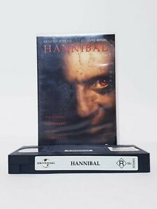 Hannibal VHS Movie Video Free Postage PAL AUS Thriller Anthony Hopkins