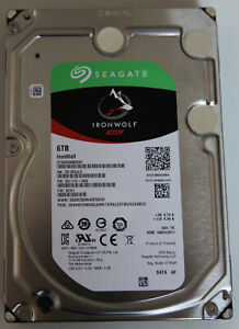 "Seagate IronWolf 6 To NAS 3,5"" Disque Dur Interne (ST6000VN0041)"