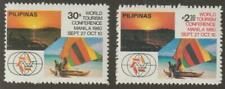Philippines 1980 #1484-85 World Tourism Conference - MNH