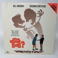 What About Bob? 1991 PG Laserdisc Bill Murray Richard Dreyfuss