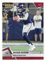 2018 Panini Instant NFL All-Rookie Team Michael Dickson Rookie Card - 1 of 576