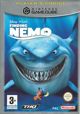 FINDING NEMO for Nintendo Gamecube - with box & manual - PAL