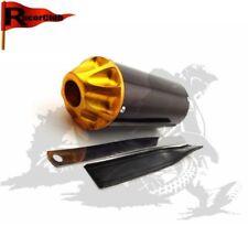 28mm Gold Silenziatore di scarico Per 50 70 90 110 125 Pit Dirt Trail Motor Bike