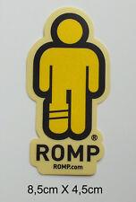 ROMP Aufkleber Sticker  Snowboard Skateboard Ski BMX MTB Rocks RIDE (S199)