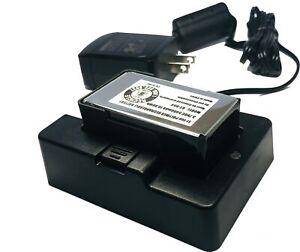 Uniden EBC100 External Desk Charger w/Battery for SDS100 Digital Police Scanner