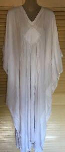 New Long  Kaftan Dress Casual or dressy Grecian fall Boho Plus size 24-34 New