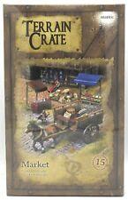 Terrain Crate MGTC131 Market (15 Pieces)  Town Village Fantasy Scenery Mantic