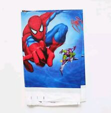 Spiderman Plastic Table cloth Disposable Birthday Party Super Hero Tablecloth