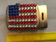 New listing American Flag Design Vintage Belt Buckle