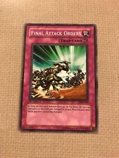 Yu-Gi-Oh! final attack orders common 1st ed DCR-045