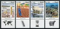Angola Science Stamps 2019 MNH Climate Change Environment Polar Bears 4v Set