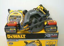 DeWALT DCS577T2 54v XR FLEXVOLT B/less High Torque 190mm Circular Saw 2 x 6Ah