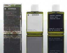 KORRES PEPPER JASMINE GAIAC WOOD PASSION FRUIT Natural Eau De Toilette 100ml