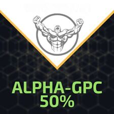 Alpha-GPC 50% (Powder. 30grams)  99% With Free Scoop! PureRawz